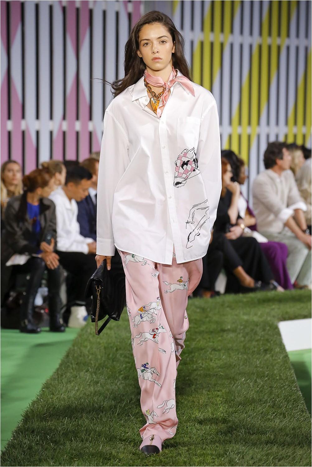 Pajama style Escada