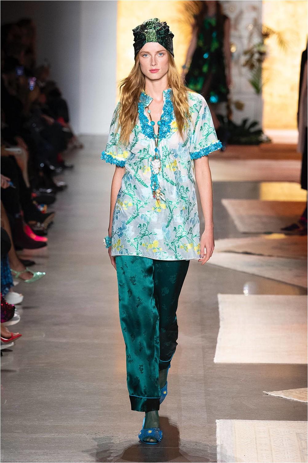 Pajama style Anna Sui