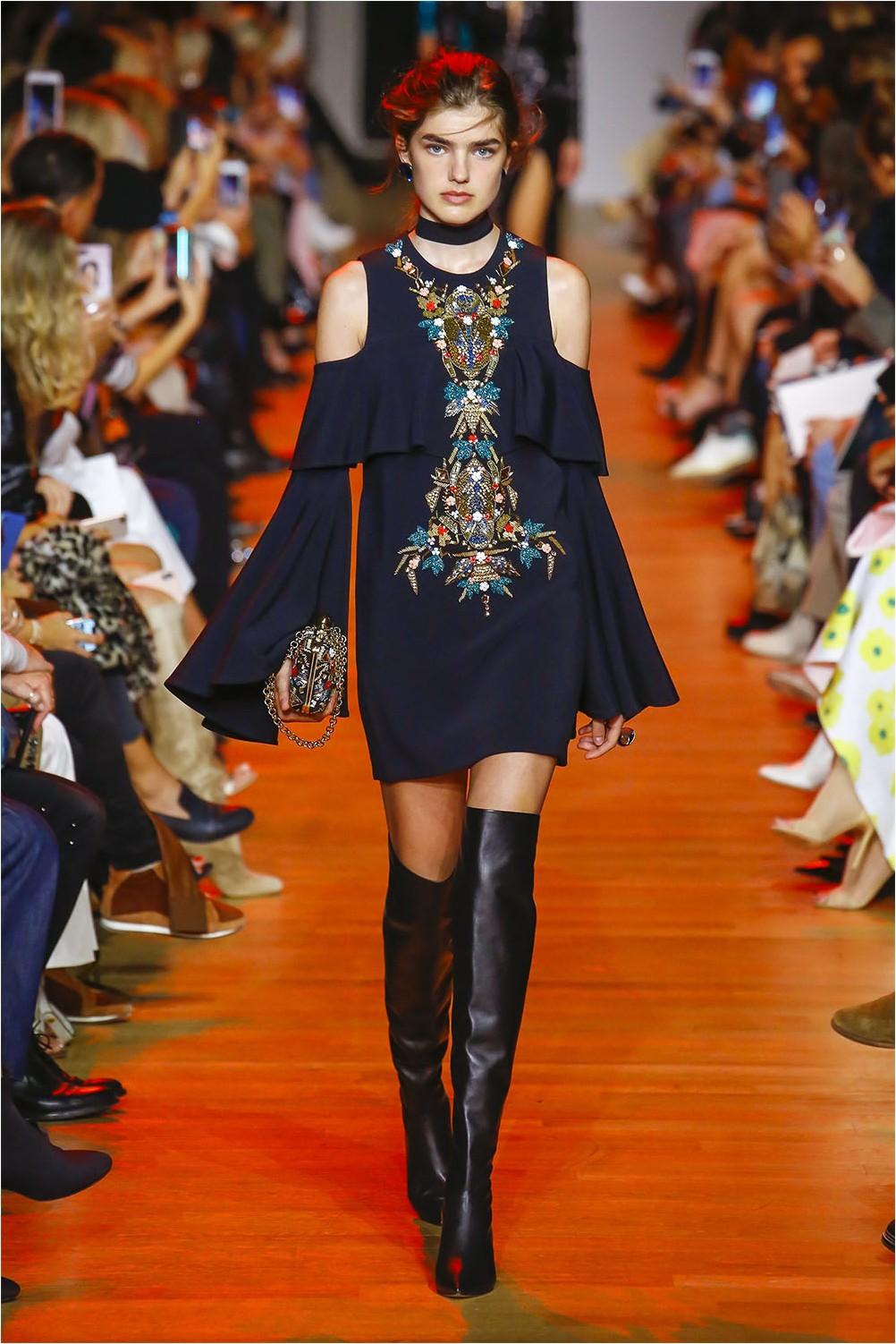 Off Shoulder Dress Elie Saab