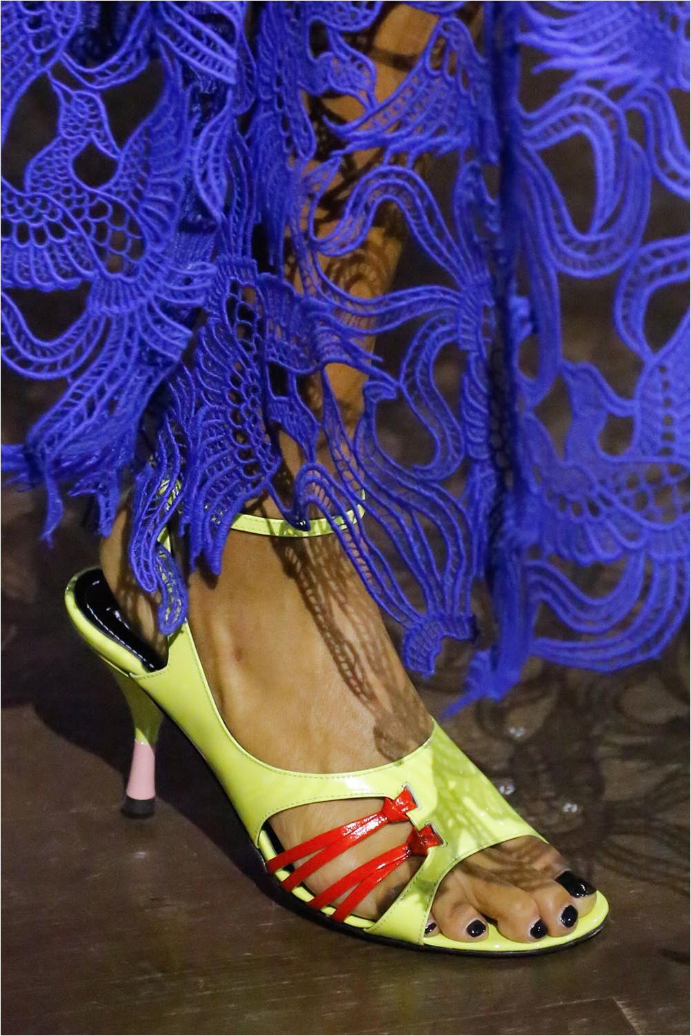 Bright Kenzo Sandals