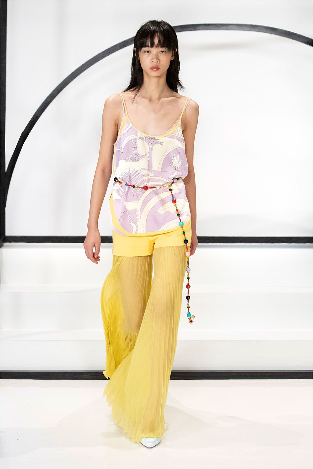 Emilio Pucci Sheer Trousers