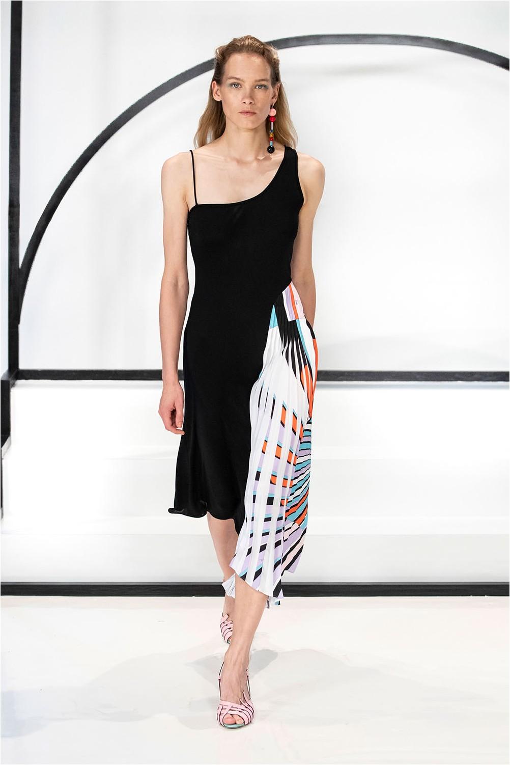 Асиметрична рокля на Емилио Пучи