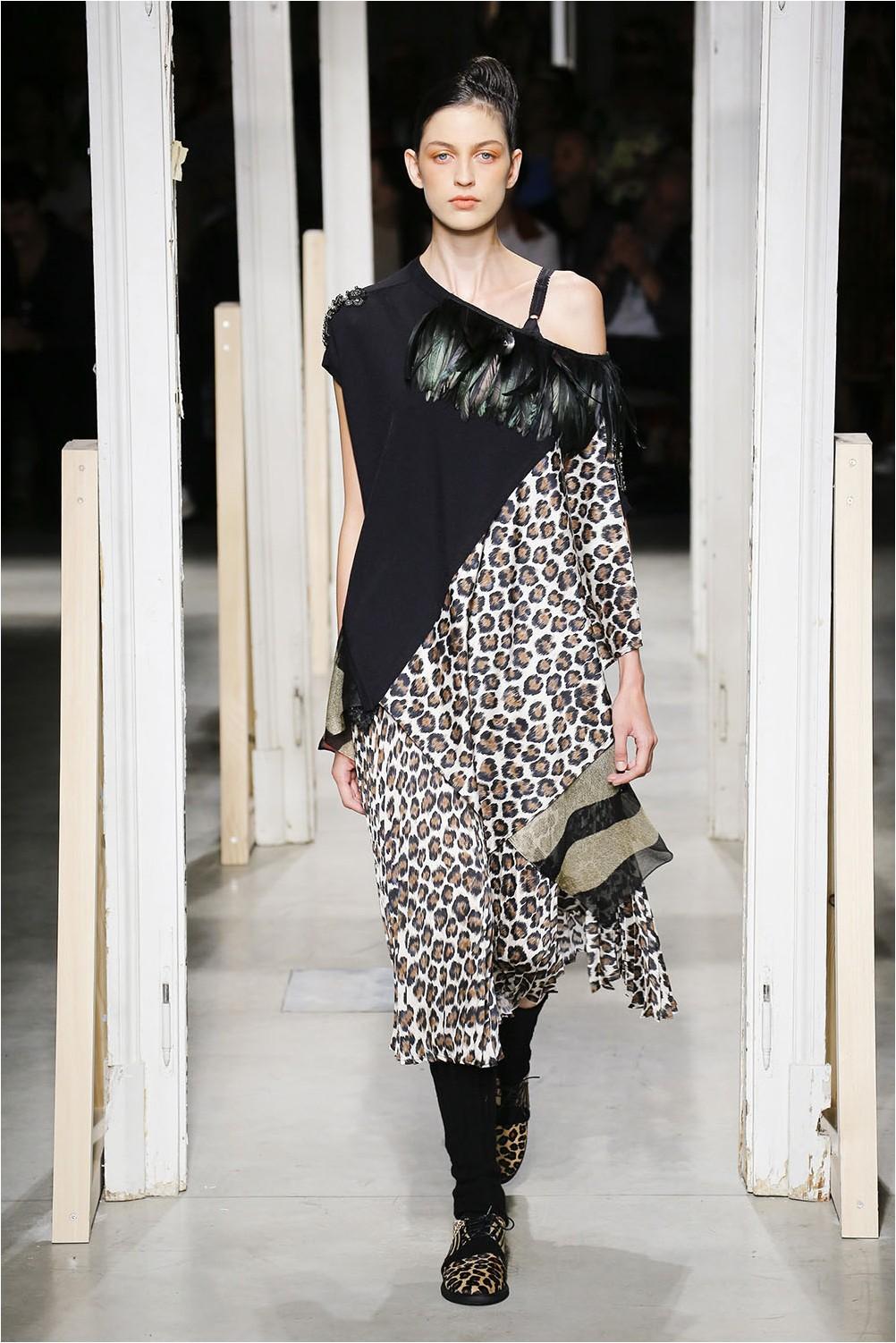 Asymmetrical dress by Antonio Marras