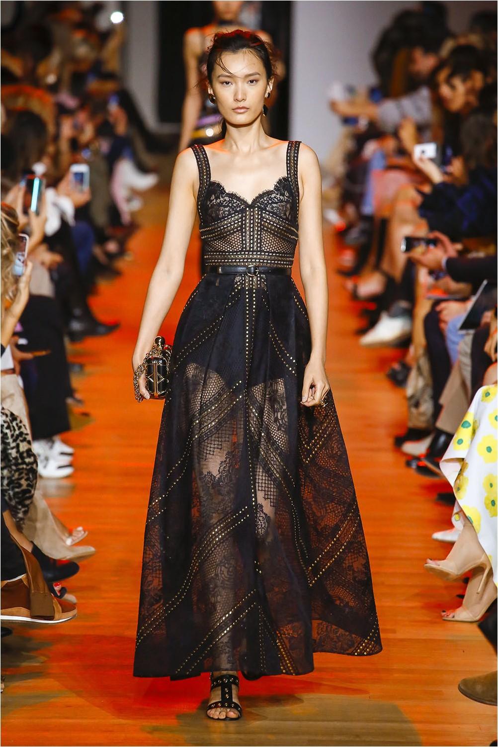 Sheer Elie Saab Dress