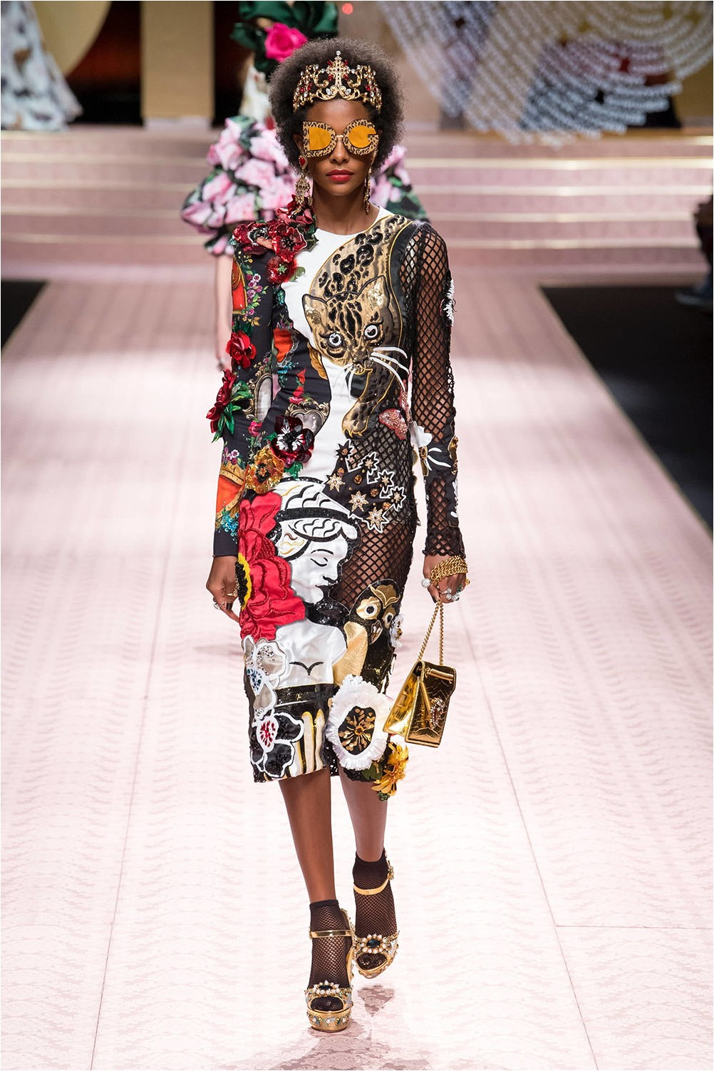 Dress with Dolce & amp; decor Gabbana