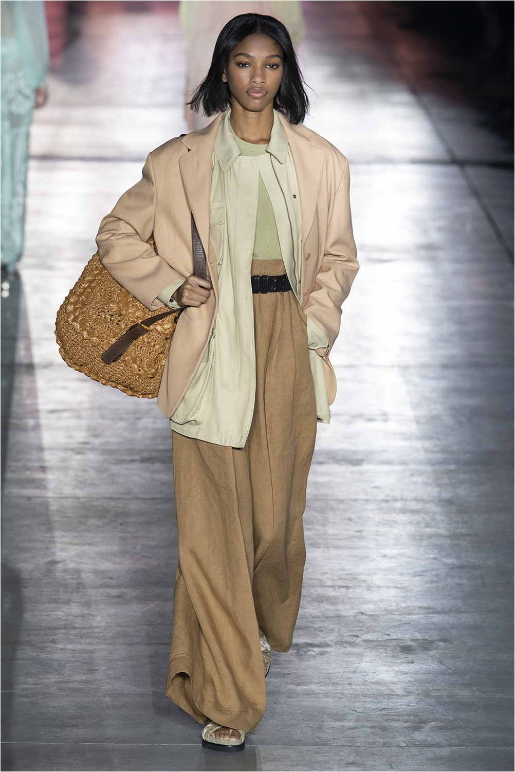 Wide retro trousers Alberta Ferretti