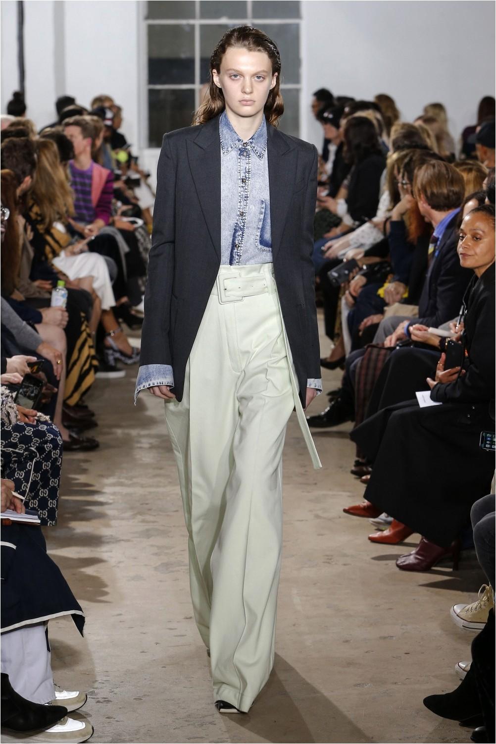 Wide retro pants by Proenza Schouler