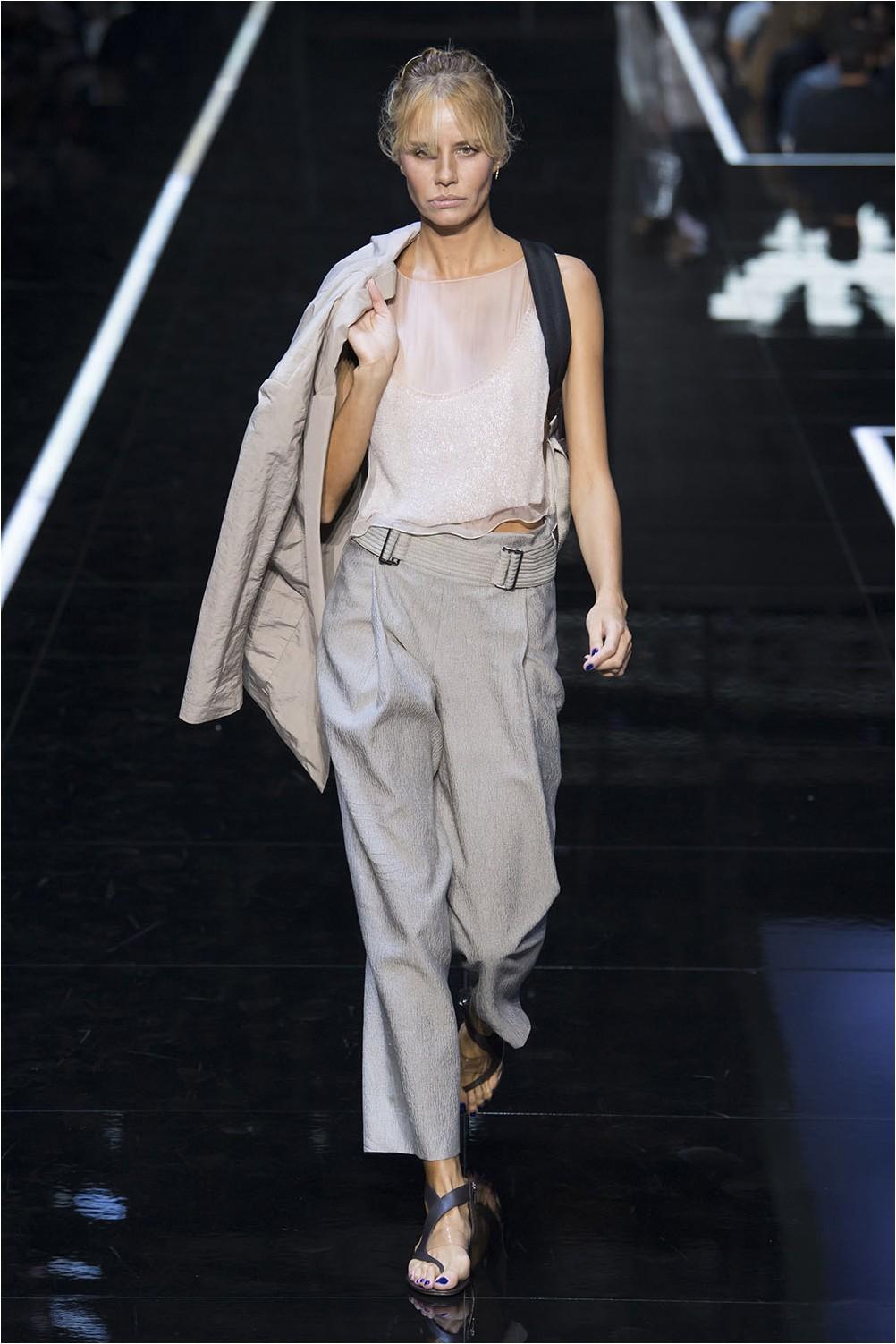 Emporio Armani Cropped Pants