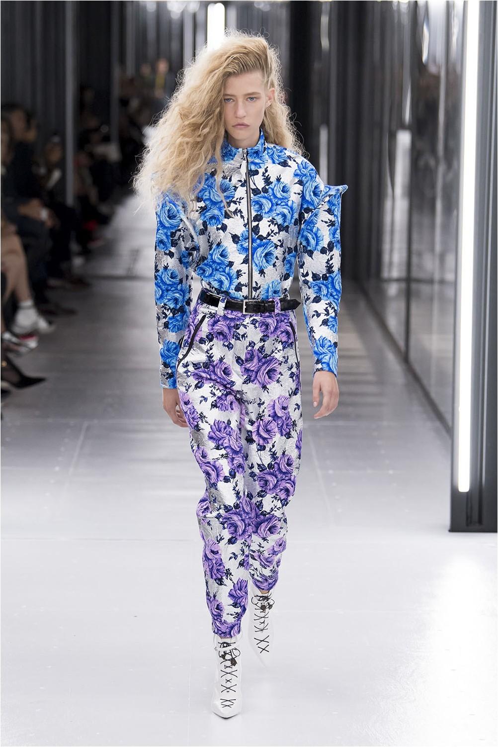 Floral print Louis Vuitton