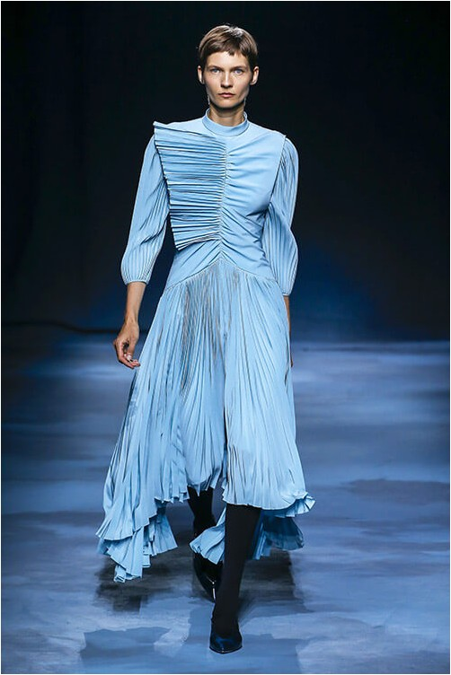Pleated Givenchy