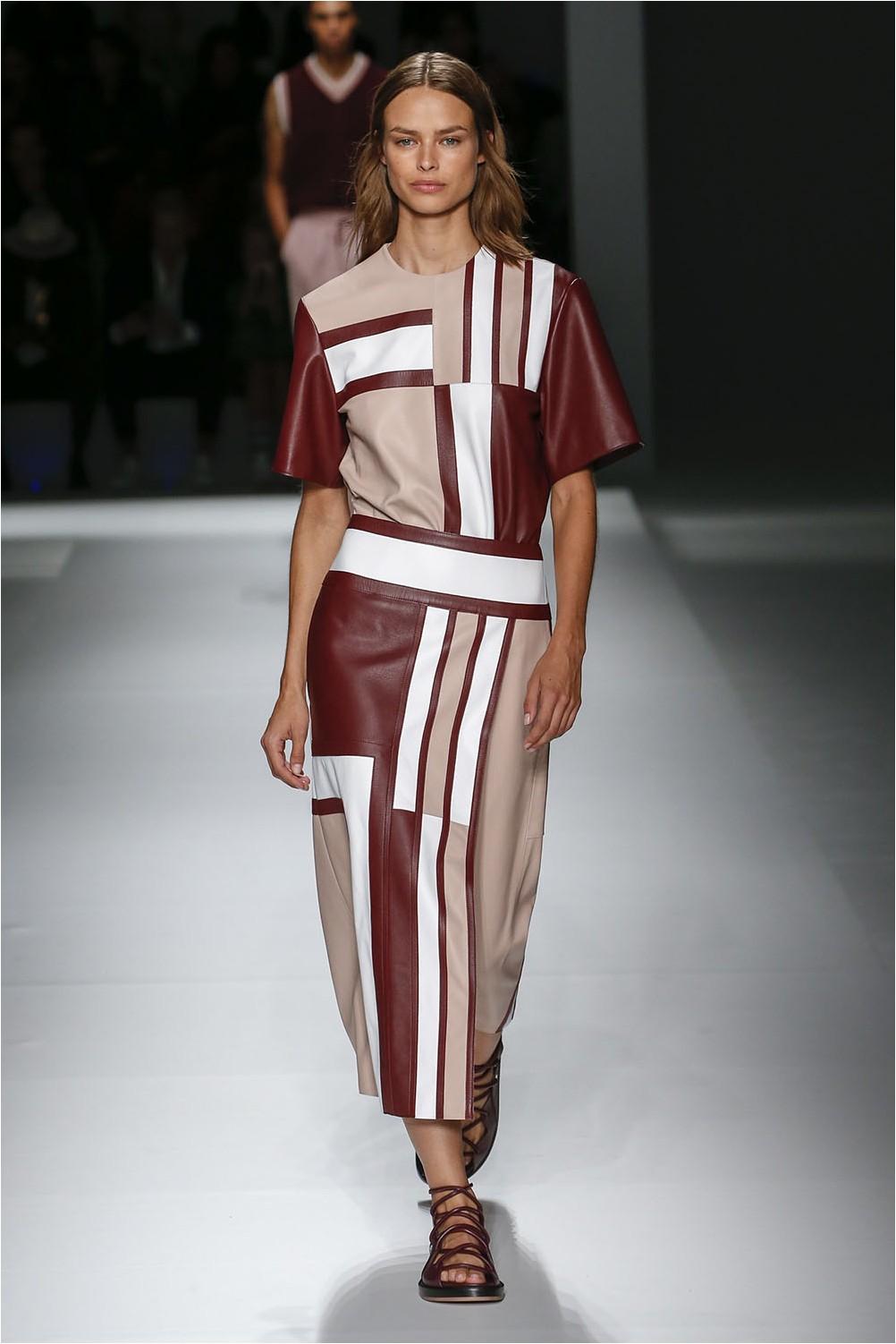 Boss Leather Dress