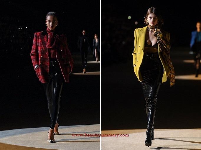 Saint Laurent fashion show-1
