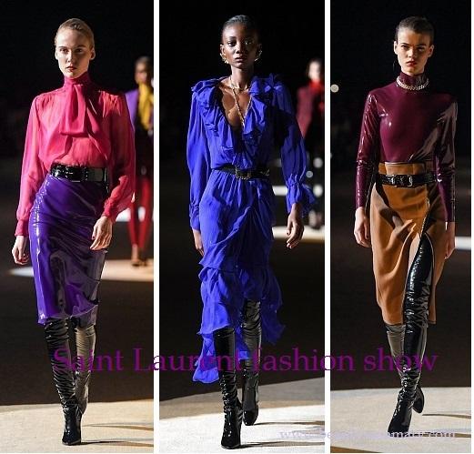Saint Laurent fashion show-14