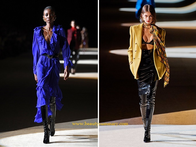 Saint Laurent fashion show-21