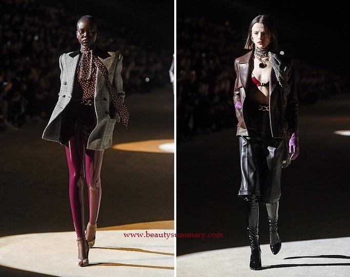 Saint Laurent fashion show-7