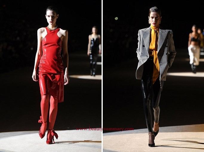 Saint Laurent fashion show-9