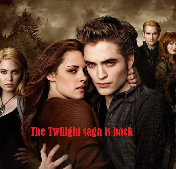 The Twilight saga is back-www.beautysummary.com